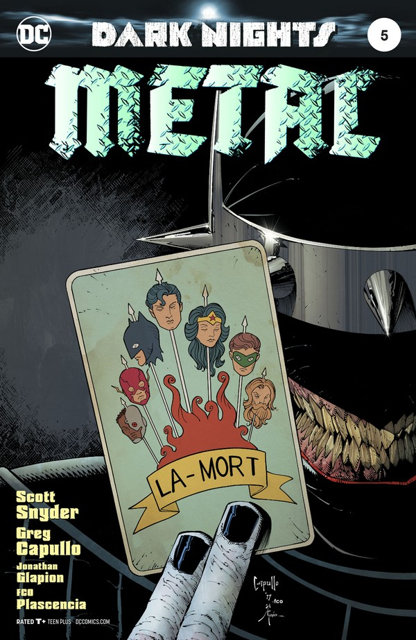 DARK NIGHTS : METAL 4 (VO)