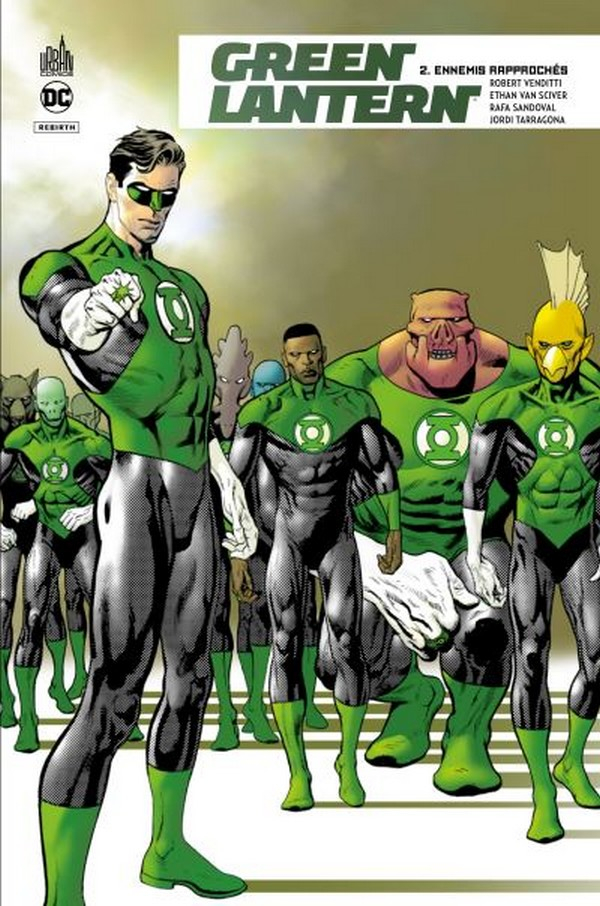 Green Lantern Rebirth Tome 2 (VF)