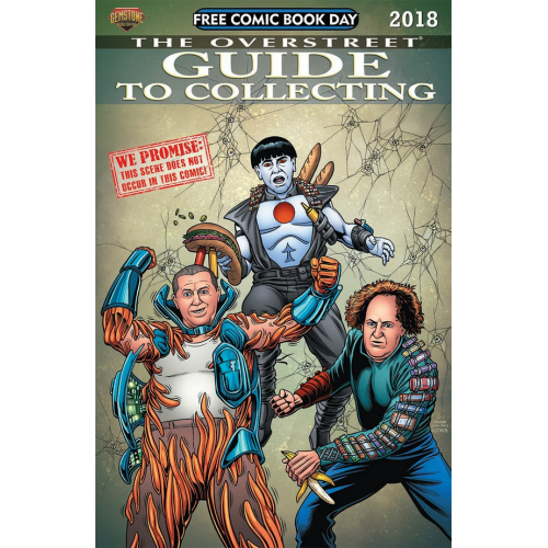 FCBD 2018 OVERSTREET GUIDE TO COLLECTING (VO)