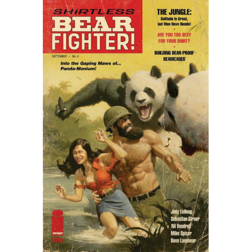 Shirtless Bear Fighter (VF)