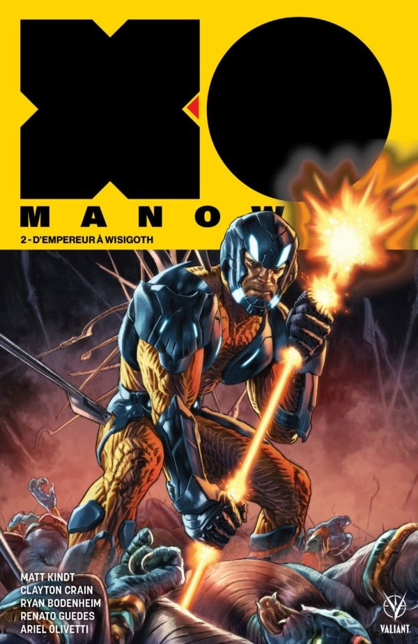 X-O Manowar Tome 2 (VF)