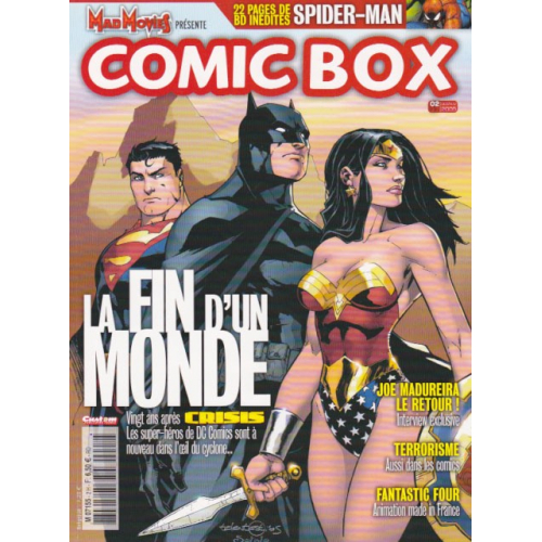 Comic Box n°37 (VF) Occasion