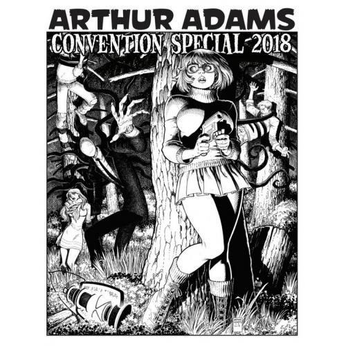 Arthur Adams Convention Special Sketchbook 2018 Signé (VO)