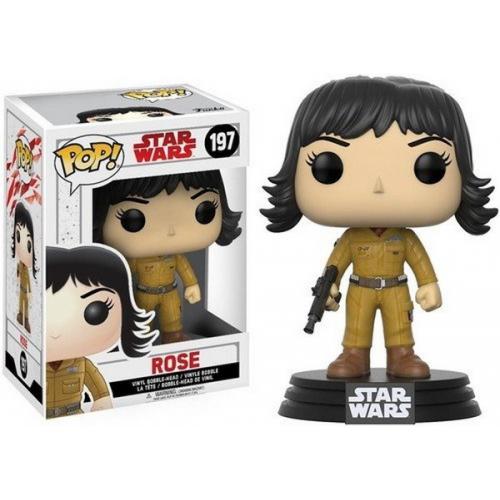 Funko Pop Star Wars The Last Jedi Rose 197