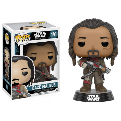 FUNKO POP Star Wars Rogue One Baze Malbus 141