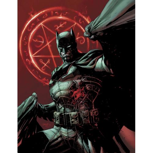 BATMAN DAMNED 1 (VO) JIM LEE VARIANT non censuré