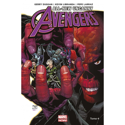 ALL-NEW UNCANNY AVENGERS Tome 4 (VF)