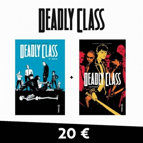 Deadly Class Pack Tome 1 et Tome 2 (VF)