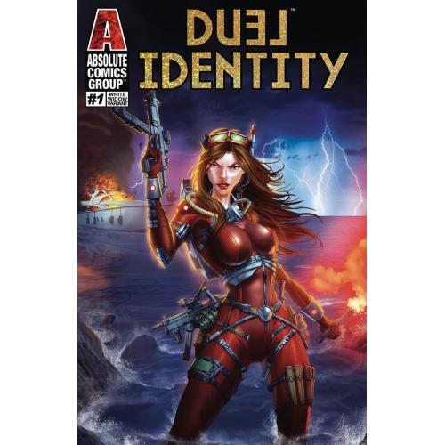 DUEL IDENTITY 1 (VO) WHITE WIDOW COVER - JAMIE TYNDALL