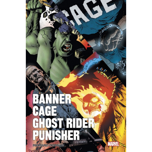 BANNER/CAGE/PUNISHER PAR RICHARD CORBEN (VF)