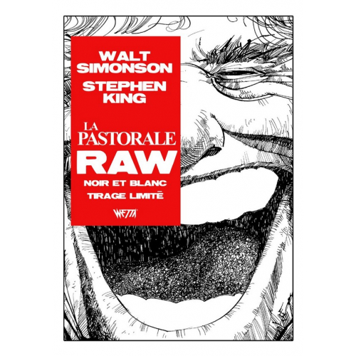 STEPHEN KING : LA PASTORALE RAW Edition Noir & Blanc - WALTER SIMONSON - Exclusivité Original Comics 250 ex (VF)