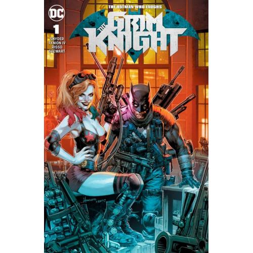 BATMAN WHO LAUGHS THE GRIM KNIGHT 1 (VO) JAY ANACLETO VARIANT