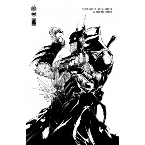 BATMAN LA COUR DES HIBOUX - ÉDITION N&B 80 ANS (VF)