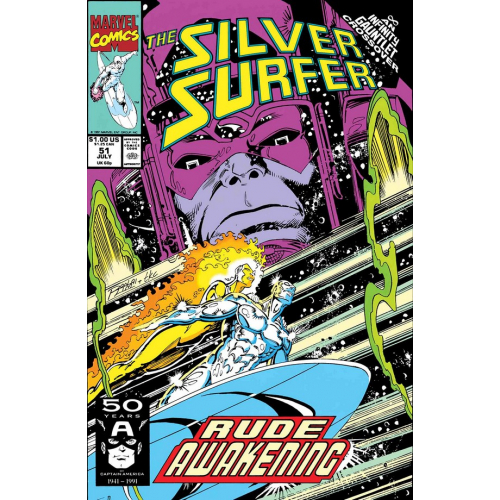 SILVER SURFER RUDE AWAKENING 1 (VO)
