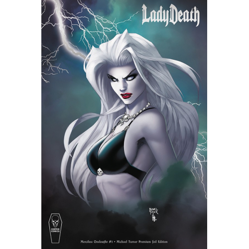 LADY DEATH MERCILESS ONSLAUGHT 1 TURNER PREMIUM FOIL CVR (VO)