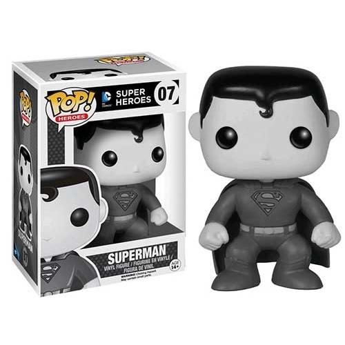Figurine POP! DC COMICS: Superman Black & White 07