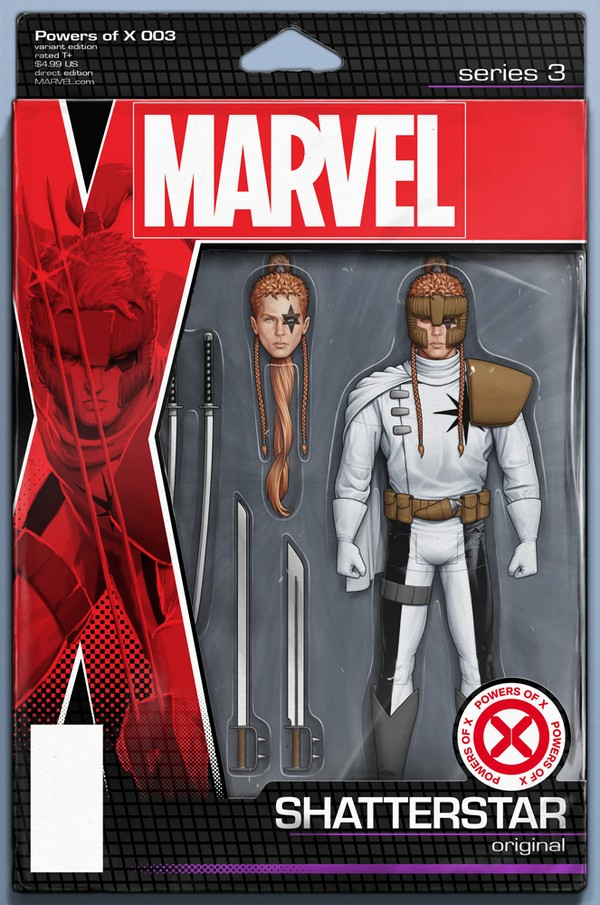 POWERS OF X 3 (OF 6) CHRISTOPHER ACTION FIGURE VAR (VO)