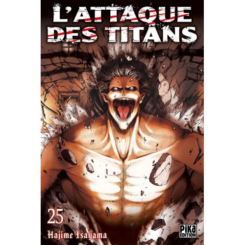 L'attaque des Titans Tome 25 (VF)