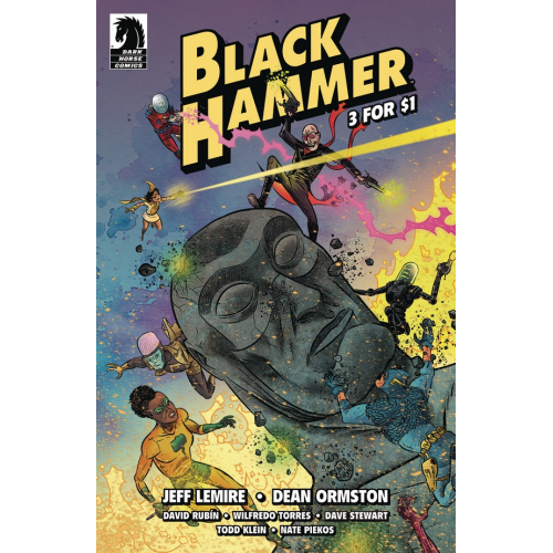 BLACK HAMMER 3 FOR $1 (VO) - 72 Pages