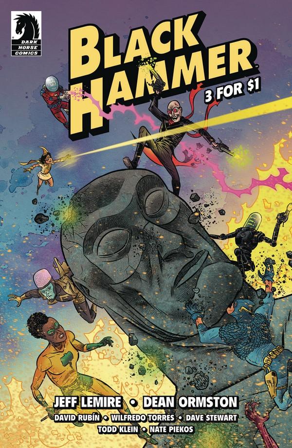 BLACK HAMMER 3 FOR $1 (VO)