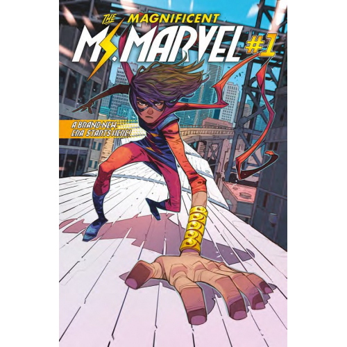 THE MAGNIFICIENT MISS MARVEL TOME 1 (VF)