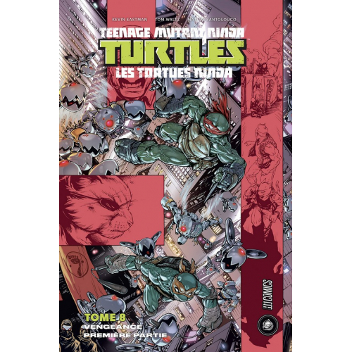 Les Tortues Ninja Tome 8 (VF)
