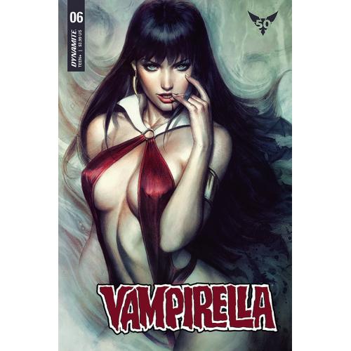 VAMPIRELLA 6 STANLEY ARTGERM COVER ACETATE (VO)