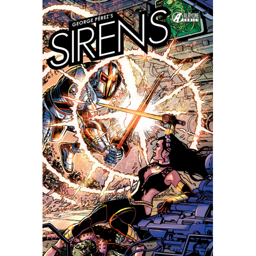 SIRENS de George Perez (VF) Edition Collector 250 Ex