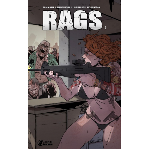 RAGS tome 2 EDITION COLLECTOR 250 ex (VF)
