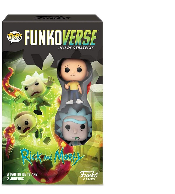 Funkoverse Rick and Morty