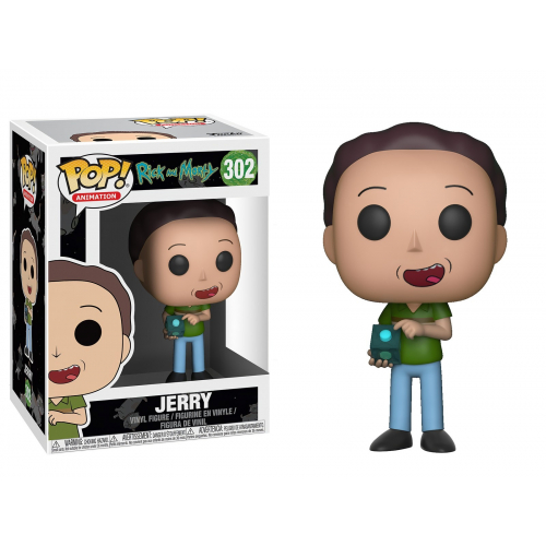FUNKO POP Rick And Morty Jerry 302