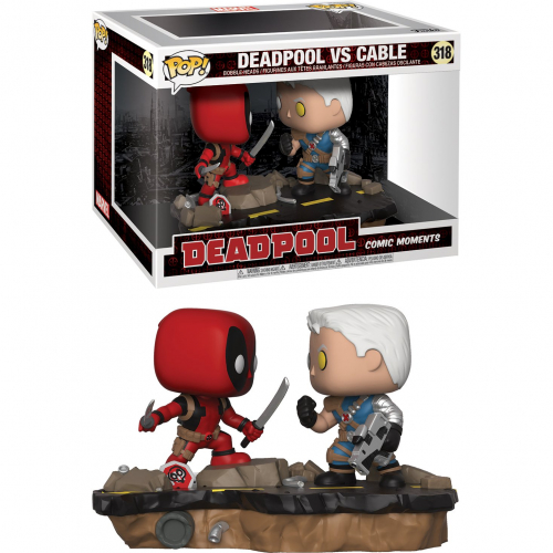 Funko Pop Deadpool - Deadpool VS Cable 318