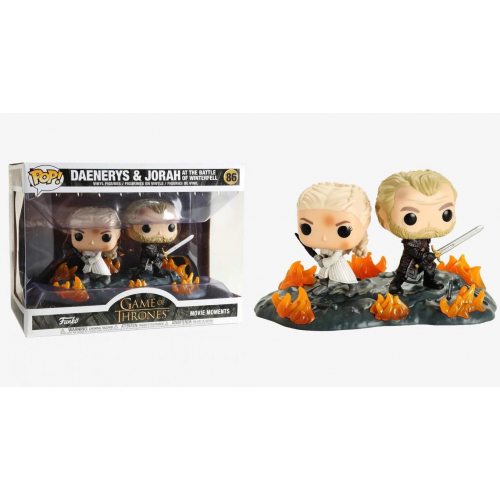 FUNKO POP Game Of Thrones - Daenerys and Jorah at the battle of Winterfell 86