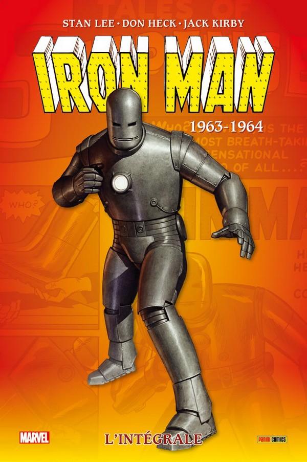 IRON MAN : L'INTÉGRALE 1963-1964 (NOUVELLE EDITION) (VF)