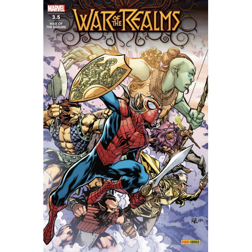 WAR OF THE REALMS 3.5 (VF)