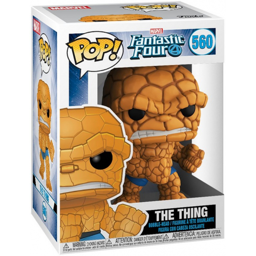 Funko Pop Fantastic Four The Thing 560
