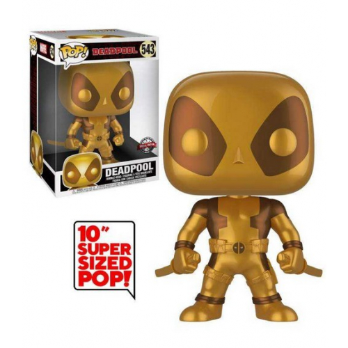Funko Pop Deadpool Gold (Life Size - 30cm) 543