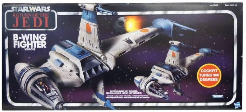 Star Wars Return of the Jedi Y-Wing Fighter - Vintage Collection