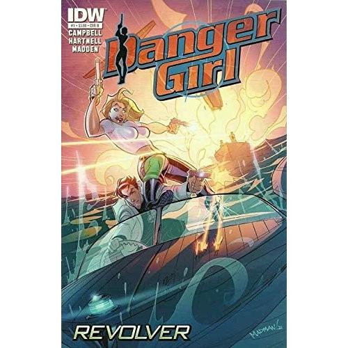 DANGER GIRL REVOLVER 1 (OF 4) CVR B (VO)