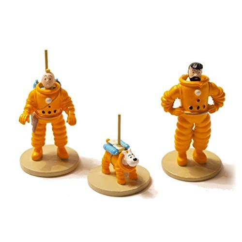 Coffret 3 micro figurines Tintin