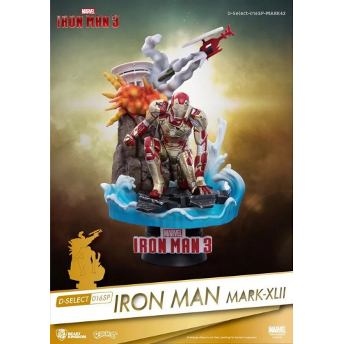 Marvel diorama PVC D-Stage Iron Man Mark XLII