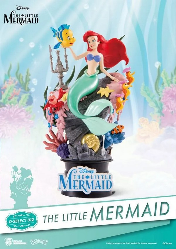 Diorama PVC D-Stage The Little Mermaid