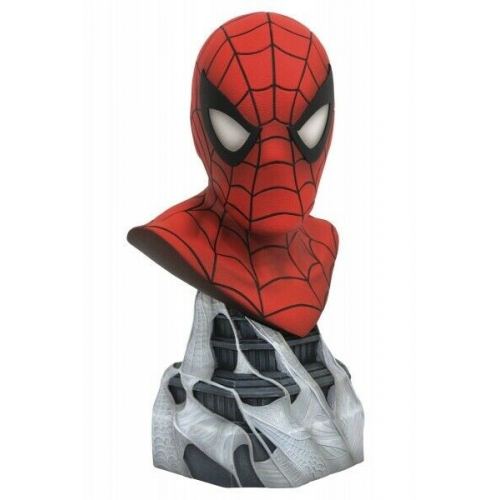 Marvel - comics legends 3d buste spider-man - 25cm