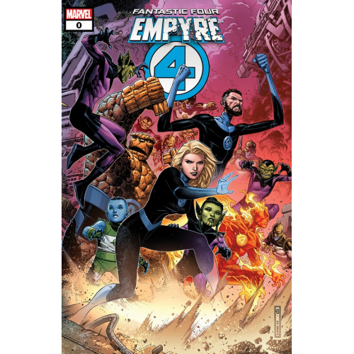 EMPYRE 0 : FANTASTIC FOUR (VO) One-Shot