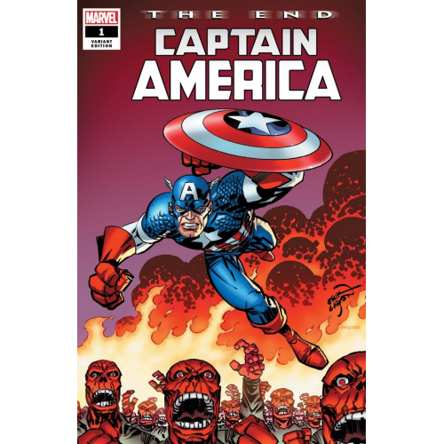 CAPTAIN AMERICA THE END 1 (VO) LARSEN Variant