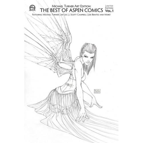 TURNER ART ED BEST OF ASPEN COMICS VOL 01 RETAILER CVR (VO)
