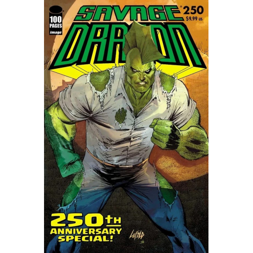 SAVAGE DRAGON 250 (VO) ROB LIEFELD VARIANT