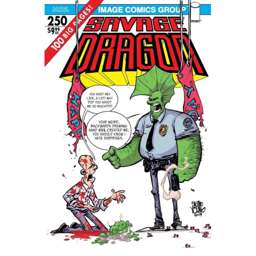SAVAGE DRAGON 250 (VO) SKOTTIE YOUNG VARIANT