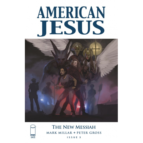 AMERICAN JESUS NEW MESSIAH 3 CVR A TOP SECRET (VO)