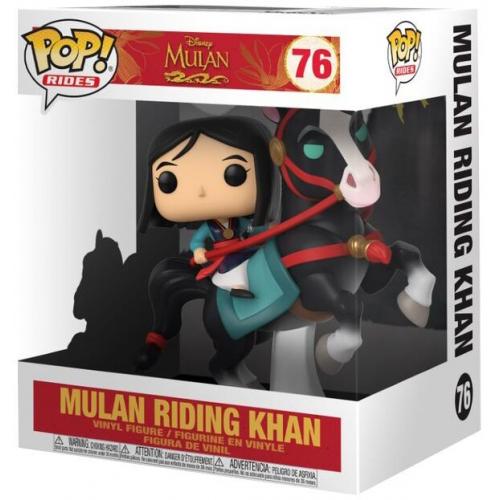 Funko Pop Mulan Riding Khan 76